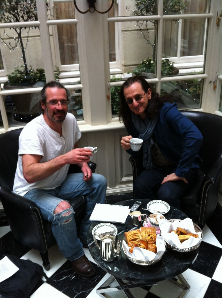pete and geddy lee take tea